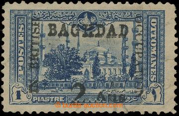 209565 - 1917 BRITSKÁ OKUPACE BAGDÁDU SG.6 - turecká 1Pia s přetiskem