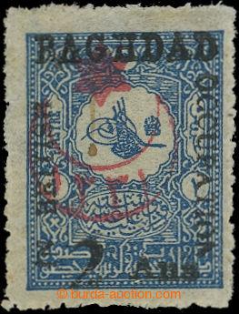 209566 - 1917 BRITSKÁ OKUPACE BAGDÁDU SG.18 - turecká 1Pia s přetiske