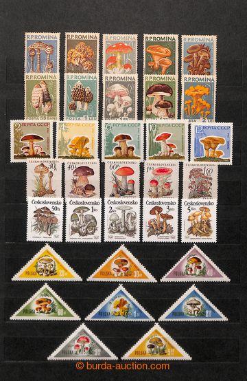 209603 - 1960-2000 [SBÍRKY]  HOUBY /  tématická sbírka neupotřebených