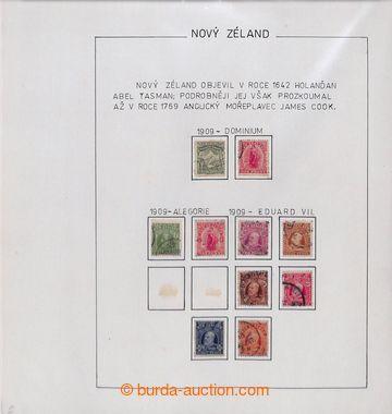 209614 - 1909-180 [SBÍRKY]  sbírka razítkovaných zn. na cca 100 liste