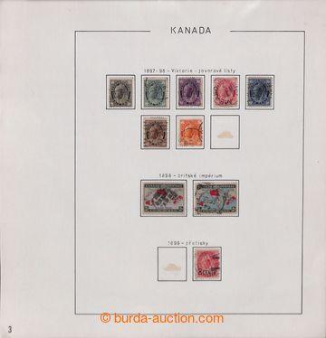 209615 - 1897-1972 [SBÍRKY]  sbírka razítkovaných zn. na cca 100 list