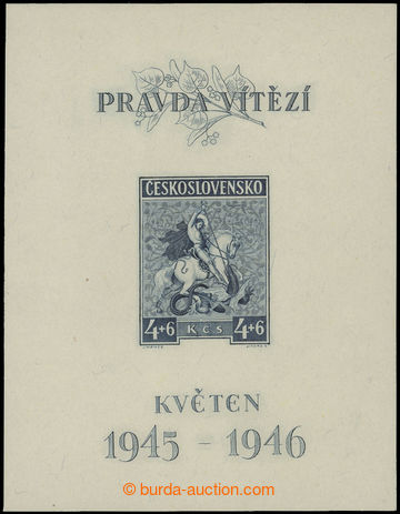 209620 - 1946 Pof.A435 May, T II., nice; c.v.. 400CZK