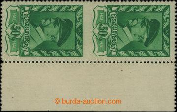 209770 - 1945 Pof.384VV, Moskevské 50h, svislá 2-páska s pravým okraj