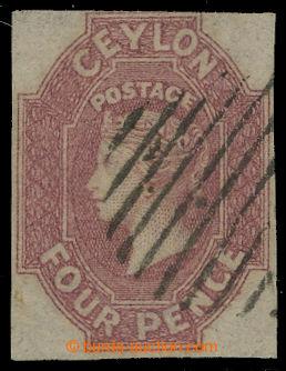 210102 - 1859 SG.4, Viktorie (Perkins Bacon) 4P matně růžová; velmi k