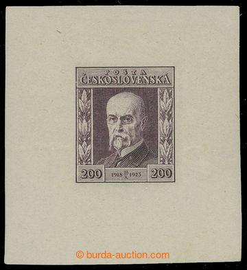 210608 - 1923 ZT  Pof.178, Jubilejní 200h měditisk ve fialové barvě s