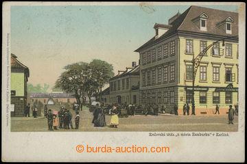 210722 - 1900 PRAGUE / KARLÍN - Royal road U town Hamburg, jedno-zá