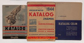 210749 - 1940-1946 SELECTION of KATALOGŮ / : P.stat, F. Novotný 194