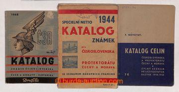 210749 - 1940-1946 SESTAVA KATALOGŮ / : Celiny, F. Novotný 1940; Sl