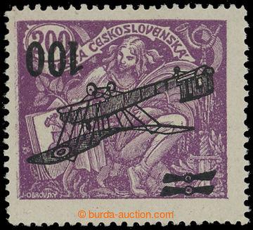 210794 -  Pof.L5 Pp, II. letecké provizorium 100/200h fialová, PŘEVRÁ