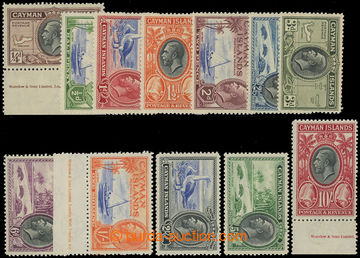 210839 - 1935 SG.96-107, Jiří V. krajinky 1/4P-10Sh; bezvadná komplet