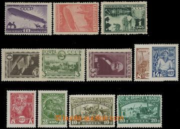 210889 - 1928-1931 Mi.354-357, 383-384, 397DY-401DY, 424X-426X; 4 sér