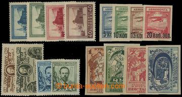 210892 - 1923-1925 Mi.224C-227C, 267-270, 292-295, 298D-299E, 300-301