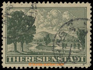 210938 - 1943 Pof.Pr1A, Připouštěcí známka tmavě zelená, ŘZ 1