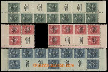 210999 - 1945 PRAHA - VOKOVICE černý přetisk SVOBODNÉ / ČESKO / SLOVE