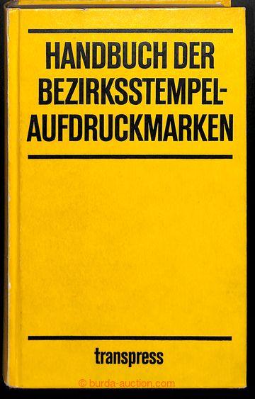 211046 - 1976 NDR / HANDBUCH DER BEZIRKSSTEMPELAUFDRUCKMARKEN  podrob