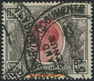 211098 - 1925 SG.105, Jiří V. 100 Liber červená / černá s fisk�