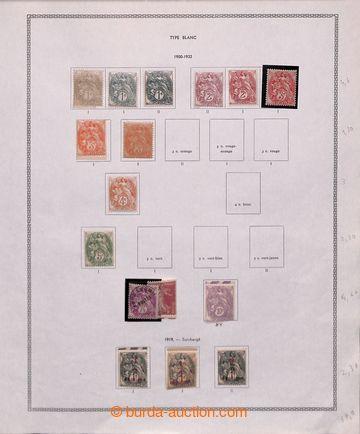 211162 - 1900-1959 [SBÍRKY]  zajímavá sbírka na listech Thiade ve šro