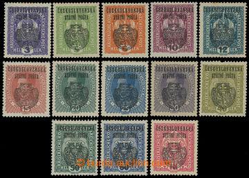 211175 -  Pof.RV22-RV33, RV36, Pražský přetisk II (velký znak) 3h