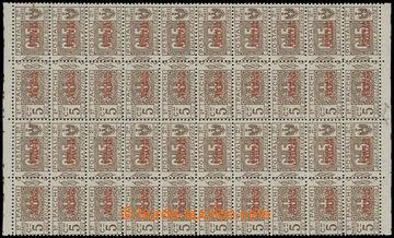 211242 - 1926-1931 Sass.43, přetisková SOMALIA ITALIANA 5C hnědá