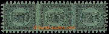 211283 - 1867-1871 Mi.6Cx, Znak 8P černá, svislá 3-páska s modrým kru