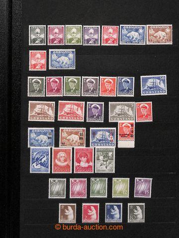 211313 - 1950-2001 [SBÍRKY]  GRÓNSKO /  sbírka na 9 listech v albu A4