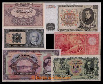 211316 -  1920-1934 Ba.17b, 22e, 21b2, 24b, 25b, 27  sestava 6ks bank