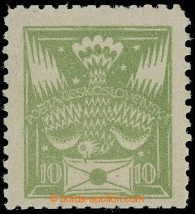 211345 -  ZT  hodnoty 10h s hvězdičkami v hráškově zelené barvě s ŘZ