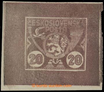211378 - 1919 ZT  nepřijatého návrhu na první poštovní známky z tzv.