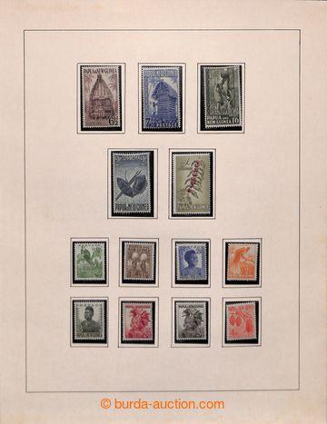 211389 - 1952-1994 [SBÍRKY]  sbírka ** na listech SAFE; od Mi.1 včetn