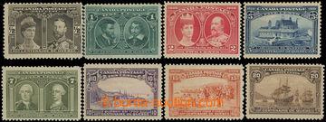 211553 - 1908 SG.188-195, 300. výročí Québecu, kompletní série