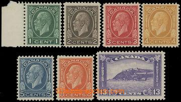 211556 - 1932-1933 SG.319-325, Jiří V. 1C - 13C; kompletní bezvadn