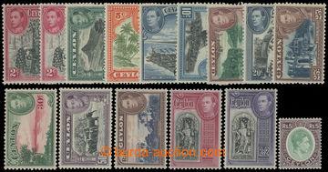 211564 - 1938 SG.386-397, Jiří VI. - Motivy, nominálně kompletní