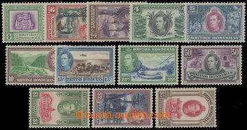 211601 - 1938-1947 SG.150-161, Jiří VI. - Krajinky; kompletní sér