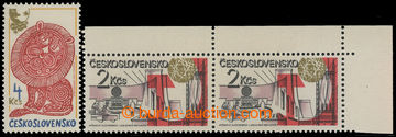 211674 - 1980-1981 Pof.2452, 2493ST, two stamps with odlišnými type