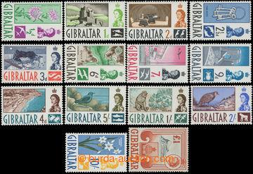 211737 - 1960-1962 SG.160-173, Alžběta II. - Motivy 1/2d-£1; kompl