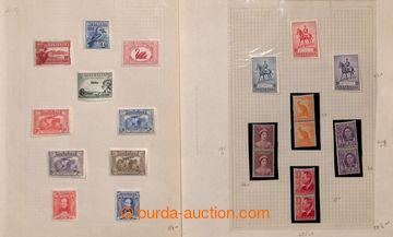 211895 - 1930-1965 [SBÍRKY] menší sbírka na 19 listech, od vydání 193