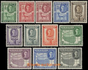211923 - 1942 SG.105-116, Jiří VI. - Motivy ½A - 5R; kompletní s�