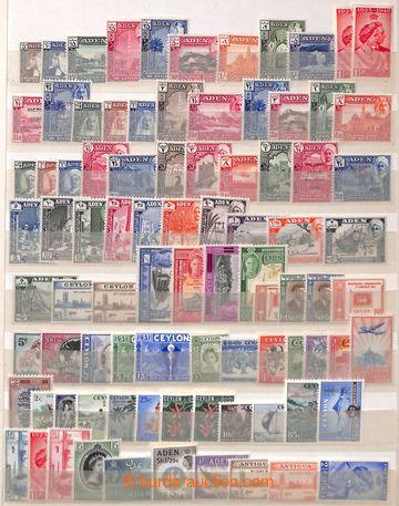 211941 - 1930-1960 [SBÍRKY]  sbírka na 11 stranách v Albu A4, obsahuj