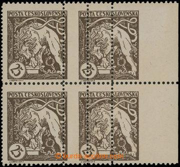 211993 -  Pof.28B VV, Lev trhající okovy 25h hnědá, pravý krajov