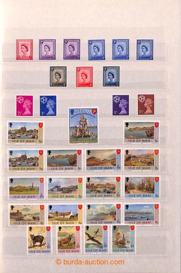 212065 - 1958-1982 [SBÍRKY]  ISLE OF MAN / sbírka v zaplněném 8-l