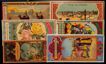 212268 - 1900-1930 FEZ-CARDS selection of 18 pcs of labels firm FEZ