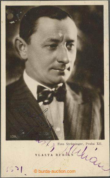 212269 - 1935? BURIAN Vlasta (1891–1962), král komiků, herec, spo