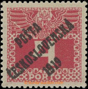 212485 -  Pof.66, 69, Large numerals 4h, overprint type II.; hinged,