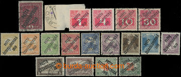 212546 -  FORGERIES / selection of 18 pcs of forgeries Austrian and H