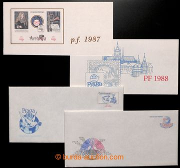 212659 - 1986-1987 CSO4, CSO5, selection of two off. envelopes, incl.