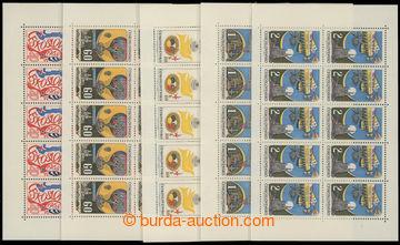 212725 - 1962-1968 sestava 5ks 10-bloků, Pof.PLL50, Praga 62 hodnota