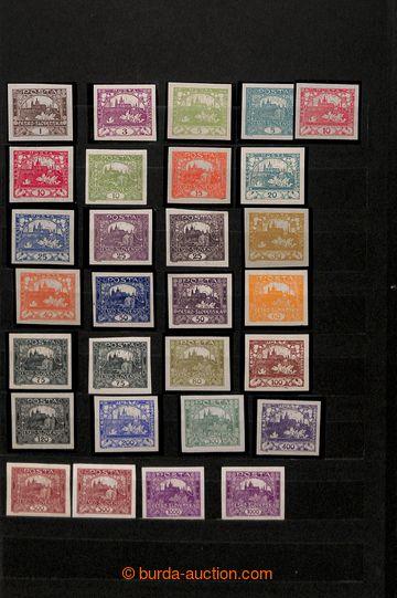 212848 - 1918-1939 [SBÍRKY]  rozpracovaná sbírka v zaplněném 12-