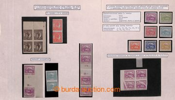 212861 - 1918-1939 [SBÍRKY]  velmi zajímavá rozpracovaná speciali