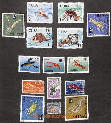 212868 - 1960-1990 [SBÍRKY]  FAUNA /  námětová sbírka na listech v pé