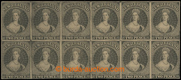 213000 - 1855 ZT  Chalon Head 2P,  Hausberg Reprint Proof; bezvadný